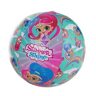 Shimmer & Shine Character Kids Inflatable Beach Pool Ball  • 3.49£