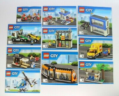 Lego City 60097 City Square - Instruction Manuals Only (All 10 Books) • 12.99£