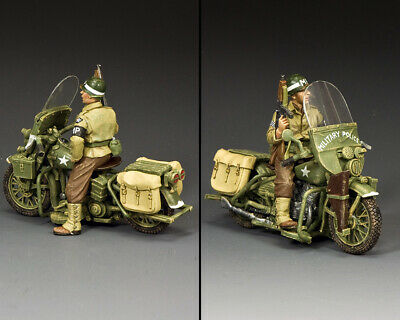 KING AND COUNTRY The Motorcycle MP - WW2 DD283 • 119.95£