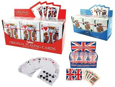 Professional Plastic Coated Classic Playing Cards Poker Game Casino • 1.95£