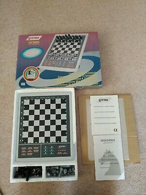 Systema Orion Express Chess Set Sensory Chess Board 72 Levels Battery Operated • 20£
