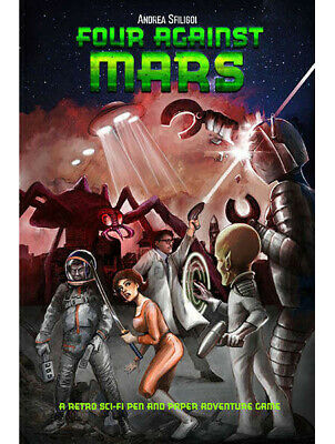 Four Against Mars Ganesha Games RPG Roleplaying Solo Sci Fi • 12.99£