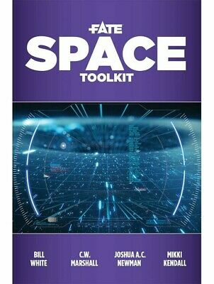 Fate Roleplaying Game Space Toolkit RPG Evil Hat Productions • 18.99£