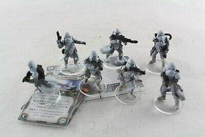 Star Wars Miniatures Snowtrooper Expansion Legion Game Painted V2 • 49.99£