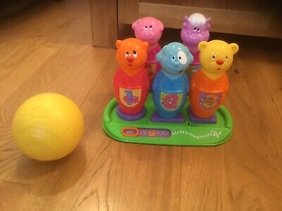 Bowling Skittles Set, Learn N Fun Animal Interactive Bowling 2005. Sounds. • 20£