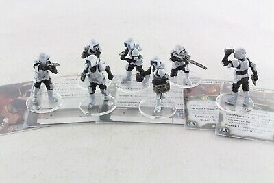Star Wars Miniatures Scout Troopers Expansion Legion Game Painted  • 49.99£