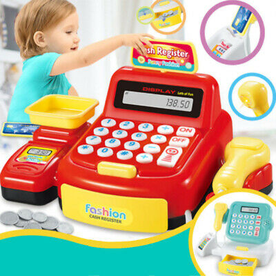 Toy Cash Register Cash Register Children Shop Cash Register Child Cash Register  • 18.63£