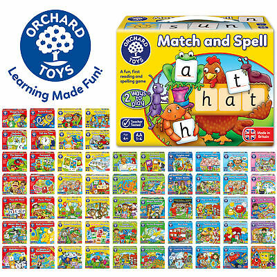 Educational Games Made In UK By Orchard Toys - Huge Selection Of Children Games • 12.99£