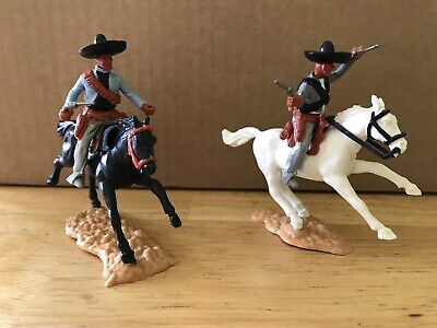 Vintage Timpo Mounted Mexicans • 30£