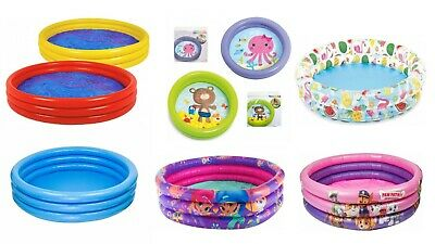 New Peddling Pool, Character Swimming, Family, Out Door, Garden Inflatable Kids • 13.99£