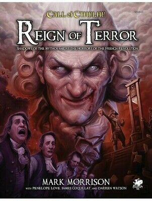 Call Of Cthulhu Reign Of Terror RPG Chaosium Roleplaying Game • 30.99£