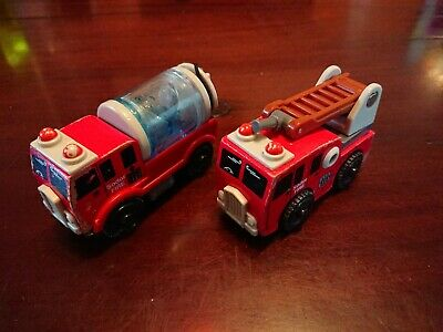 Emergency Fire Engine For Wooden Train Set • 7.99£