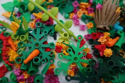 LEGO Foliage Pack 30 X Mixed Garden Accessories LEGO Flowers Stem Plants Trees • 7.69£