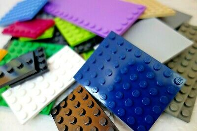 Lego 20 X Base Plates Boards Strips Bases In Mixed Colours • 8.99£