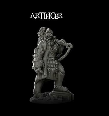 ARTIFICIER - Resin Miniature -  28mm / 32mm Scale | Dungeons And Dragons | Cthul • 5.49£