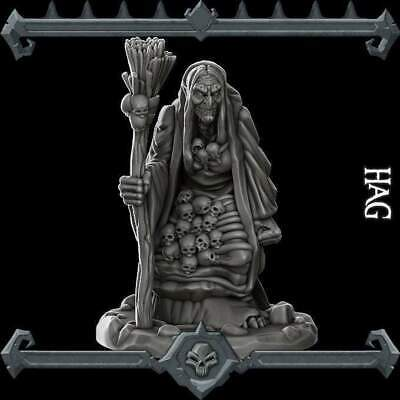 Hag / Witch - Resin Miniature -  28mm / 32mm Scale | Dungeons And Dragons | Cthu • 5.49£