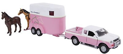 KID520124 - Pick-Up With 2 Horses And Trailer • 9.47£