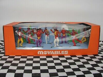 Crescent Movables 1960's Native Indians Set No. 903 New Old Stock Boxed • 34.99£