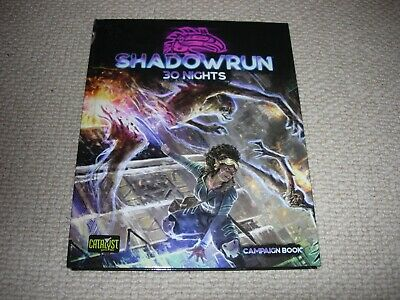 Shadowrun Rolelaying Game / RPG 6th Edition Campaign Book: 30 Nights • 30£