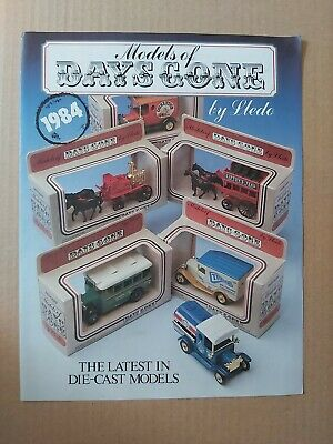 Original 1984 Lledo Models Of Days Gone Die-cast Models Leaflet / Catalogue  • 15.99£