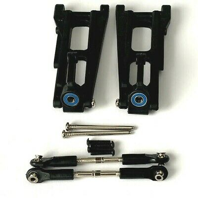 Traxxas Rustler VXL Rear Suspension Set Upper Lower Arms Hubs Pins - New Genuine • 25.50£