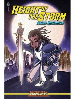 Mutants & Masterminds RPG Roleplaying Game Height Of The Storm Novel • 13.99£