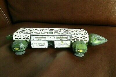 Vintage Original 1974 Dinky Meccano Space 1999. Eagle Green White. With Pod. • 45£