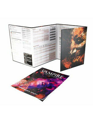 Vampire The Masquerade 5th Edition Storyteller Screen RPG Roleplaying Modiphius • 20.99£
