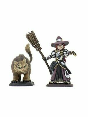 Wardlings Miniatures Witch & Cat (Wave 3) 5e Wizkids Pre-Painted • 3.99£