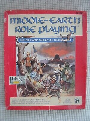 Vintage Middle-Earth Role Playing Game The Hobbit And The Lord Of The Rings • 16.50£