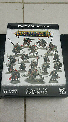 Age Of Sigmar Slaves To Darkness Chaos Warriors X10 Warhammer SEE DESCRIPTION • 24.99£