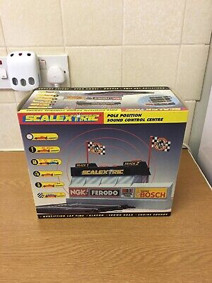 Scalextric Pole Position Sound Control Centre C8002 • 59.99£