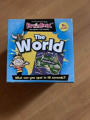 Brainbox The World • 4.50£