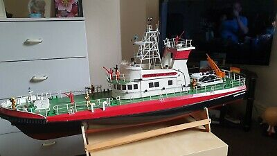 Used Radio Controlled  German Fire Boat • 200£