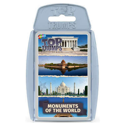 Top Trumps Monuments Of The World - Greatest Monuments From Around The World • 5.99£