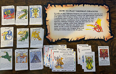 Talisman Dragons 2nd Edition Unboxed Complete Expansion Games Workshop OOP • 219.99£