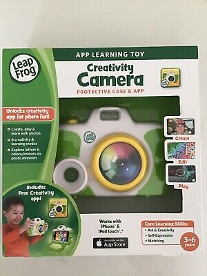 Creativity Camera Protective Case And App Leap Frog Toy • 4.20£