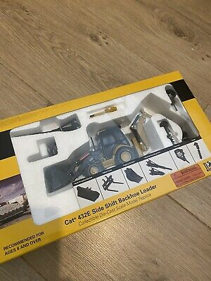 CAT 432E Backhoe Jcb Excavator Model 1/50  • 45£