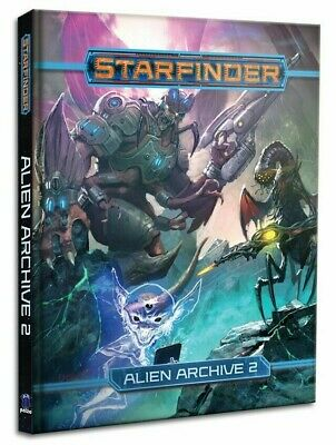 Starfinder RPG Alien Archive 2 Roleplaying Game Supplement Paizo Publishing • 9.99£