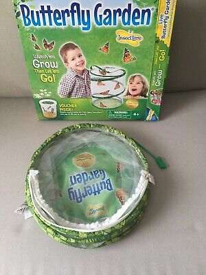 Insect Lore Butterfly Garden Hatching Kit Breed Your Own Butterflies, Habitat • 6£