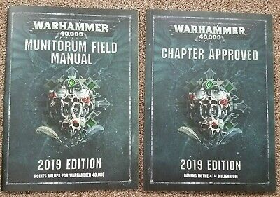 Warhammer 40k - Chapter Approved 2019 Ed. • 17.99£