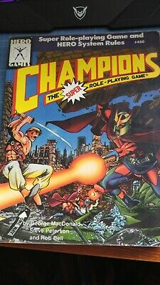 Champions The Super Role-Playing Game • 8£