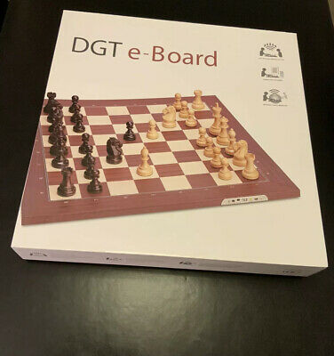 DGT Chess USB Walnut E-board With Timeless Pieces • 175£