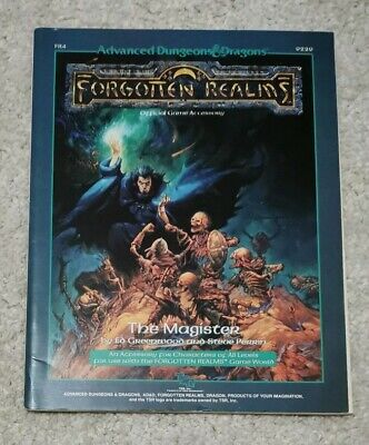 The Magister AD&D Forgotten Realms Dungeons & Dragons 9229 FR4 1988 TSR • 12.50£