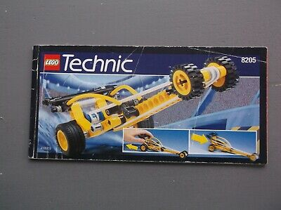 Lego Instructions Only Technic 8205 Dragstar • 3£