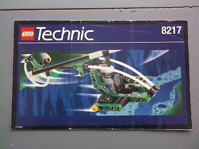 Lego Instructions Only Technic 8217 Helicopter • 3£