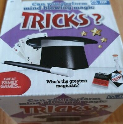 Mind Blowing Magic Tricks Family Game New  • 2.50£