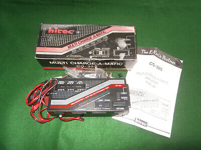 Hitec Charger, Nicad Nimh, Multi Charge-a-matic. • 15£