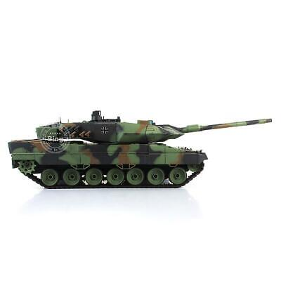 UK Stock 2.4Ghz Henglong 1/16 6.0 Plastic Ver Leopard2A6 RTR RC Tank Model 3889  • 165.99£