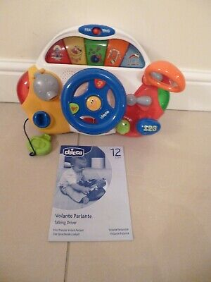 Chicco Talking Driver - Bilingual Toy - Teaches Your Child In English And French • 12.99£
